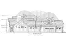 Dream House Plan - Left Side Elevation