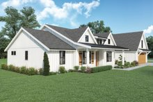 Dream House Plan - Farmhouse Exterior - Other Elevation Plan #1070-141