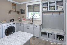 Architectural House Design - Craftsman Interior - Laundry Plan #929-988