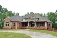 Dream House Plan - European Exterior - Front Elevation Plan #437-63