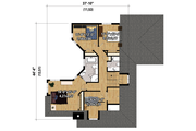 Cottage Style House Plan - 4 Beds 2 Baths 2196 Sq/Ft Plan #25-4485 Floor Plan - Upper Floor