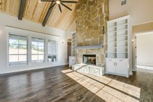 Southern Interior - Family Room Plan #1074-8