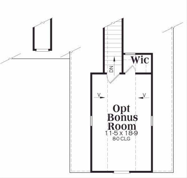 Traditional Floor Plan - Other Floor Plan Plan #419-111