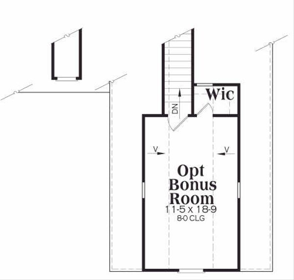 Traditional Floor Plan - Other Floor Plan Plan #419-111