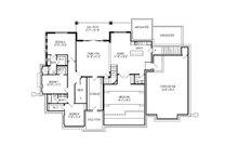 Craftsman Floor Plan - Lower Floor Plan Plan #920-31
