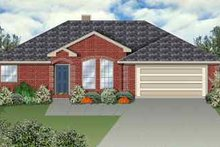 Traditional Exterior - Front Elevation Plan #84-110
