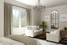 Dream House Plan - Ranch Interior - Master Bedroom Plan #119-435