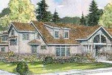 House Plan Design - Ranch Exterior - Front Elevation Plan #124-521