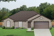 House Plan Design - Ranch Exterior - Front Elevation Plan #84-548