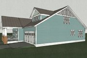 Craftsman Style House Plan - 3 Beds 2.5 Baths 2310 Sq/Ft Plan #461-9 Exterior - Other Elevation