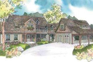 Craftsman Exterior - Front Elevation Plan #124-587