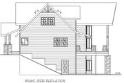 Craftsman Style House Plan - 3 Beds 2.5 Baths 2473 Sq/Ft Plan #117-886 Exterior - Other Elevation