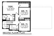 Farmhouse Style House Plan - 3 Beds 2.5 Baths 1495 Sq/Ft Plan #70-1454 Floor Plan - Upper Floor Plan