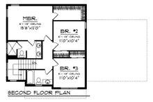 Farmhouse Floor Plan - Upper Floor Plan Plan #70-1454
