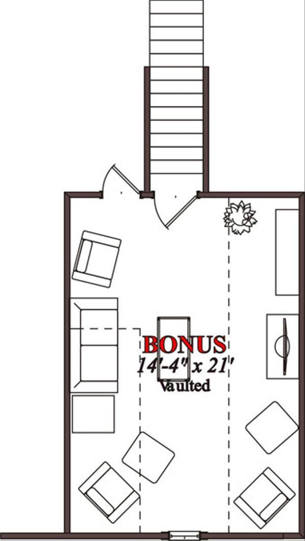 Traditional Floor Plan - Other Floor Plan Plan #63-224