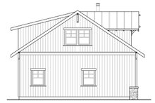 Country Exterior - Other Elevation Plan #124-1098