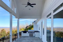 Home Plan - Craftsman Exterior - Covered Porch Plan #437-96