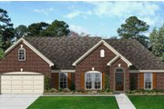 House Plan - 4 Beds 2 Baths 2550 Sq/Ft Plan #329-349 Exterior - Front Elevation