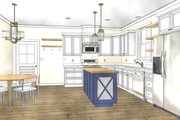 Cottage Style House Plan - 3 Beds 2 Baths 1320 Sq/Ft Plan #44-229