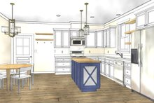 House Plan Design - Cottage Interior - Kitchen Plan #44-229