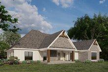Dream House Plan - European Exterior - Rear Elevation Plan #923-180