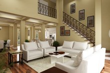House Blueprint - Southern Interior - Family Room Plan #45-600