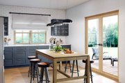 Modern Style House Plan - 2 Beds 1 Baths 1000 Sq/Ft Plan #924-10 Interior - Kitchen