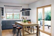 Modern Interior - Kitchen Plan #924-10