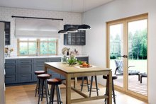 Architectural House Design - Modern Interior - Kitchen Plan #924-10