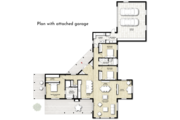Contemporary Style House Plan - 3 Beds 2 Baths 2320 Sq/Ft Plan #924-1 Floor Plan - Other Floor