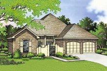 Home Plan Design - Southern Exterior - Front Elevation Plan #45-126