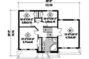 Traditional Style House Plan - 3 Beds 1 Baths 1688 Sq/Ft Plan #25-4577 Floor Plan - Upper Floor Plan
