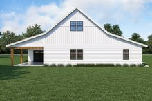 House Plan Design - Farmhouse Exterior - Rear Elevation Plan #1070-121