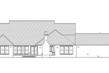 House Design - Country Exterior - Rear Elevation Plan #1074-40
