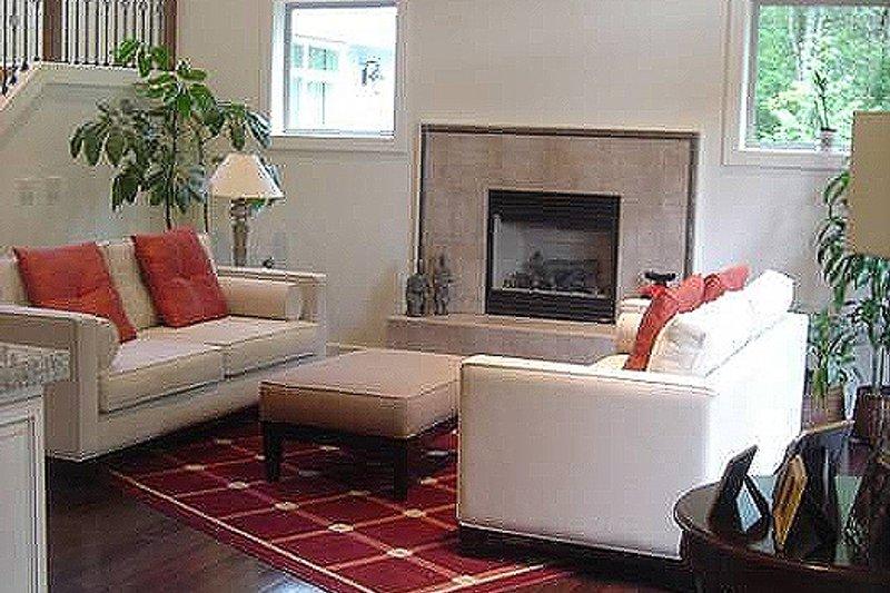 Craftsman Interior - Family Room Plan #48-107 - Houseplans.com