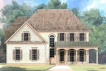 Home Plan - European Exterior - Front Elevation Plan #119-273