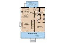 Country Floor Plan - Main Floor Plan Plan #923-46