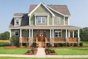 Country Style House Plan - 4 Beds 2.5 Baths 2490 Sq/Ft Plan #929-19