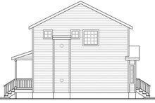 Dream House Plan - Traditional Exterior - Other Elevation Plan #124-852