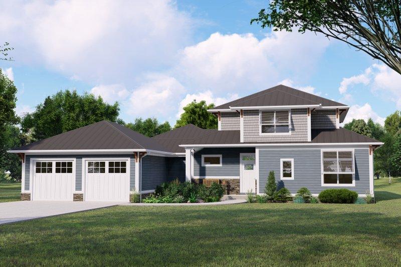 Home Plan - Beach Exterior - Front Elevation Plan #1064-128