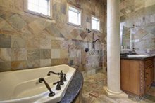 Home Plan - Mediterranean Interior - Master Bathroom Plan #80-124