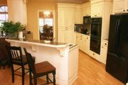 Southern Style House Plan - 3 Beds 2.5 Baths 1855 Sq/Ft Plan #21-102 Interior - Kitchen