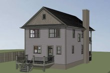 Southern Exterior - Other Elevation Plan #79-229