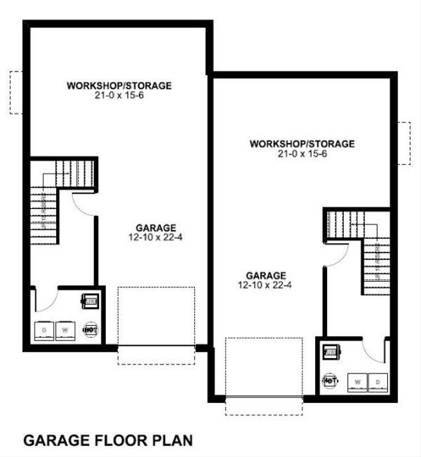 Victorian Floor Plan - Lower Floor Plan Plan #126-152