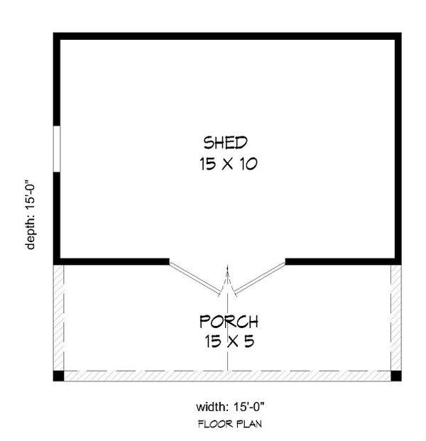 Dream House Plan - Country Floor Plan - Main Floor Plan #932-301