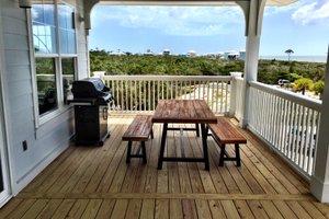 Beach Exterior - Outdoor Living Plan #901-118