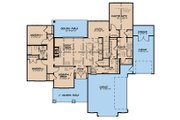 Country Style House Plan - 4 Beds 2.5 Baths 1897 Sq/Ft Plan #923-131 Floor Plan - Main Floor Plan