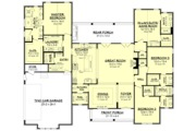 Farmhouse Style House Plan - 4 Beds 3.5 Baths 2875 Sq/Ft Plan #1067-4 Floor Plan - Main Floor Plan