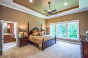 Ranch Style House Plan - 5 Beds 3.5 Baths 4406 Sq/Ft Plan #70-1502 Interior - Master Bedroom