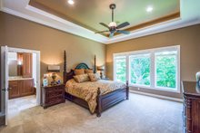 House Plan Design - Ranch Interior - Master Bedroom Plan #70-1502